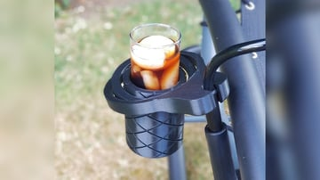 Afbeelding van Cool Things to 3D Print: Self-Righting Gimballed Drinks Holder