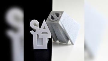 Image of Cool Things to 3D Print: Salt and Pepper Text Shakers