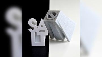 Imagem de Coisas para imprimir em 3D: Saleiro e pimenteiro em formato de letreiro