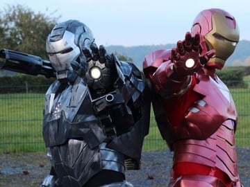 This Iron Man MK6 suit is a relatively accessible build from Thingiverse