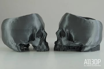 With this model, our long-distance prints encountered some issues on the MK3S
