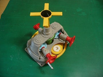 With this main gearbox for a helicopter, you're well on your way to taking to the skies