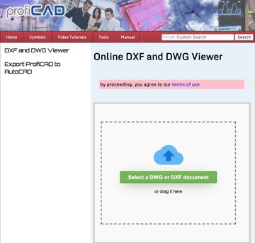 Imagen de Visor DWG gratuito/Visor AutoCAD gratuito: ProfiCAD