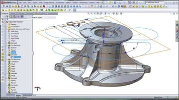 SolidWorks gives you great 3D visualization of your project