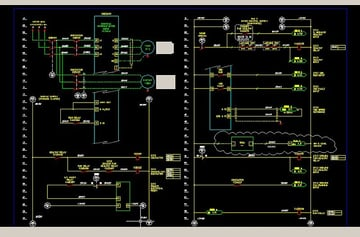 AutoCAD has a module specifically for designing electrical systems