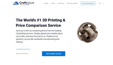 Imagen de Servicio de impresión 3D online: Craftcloud
