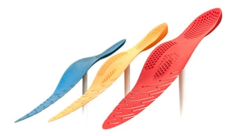 Custom-made 3D printed insoles from Wiivv