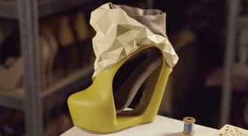 An amazing shoe design by Kathrien Herdewyn