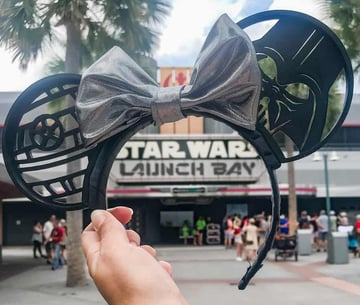 This pair of ears made it in time fore the opening of Galaxy's Edge