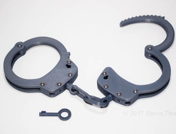 3D printed handcuffs