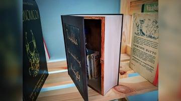 Imagem de Coisas para imprimir em 3D: Livro-esconderijo