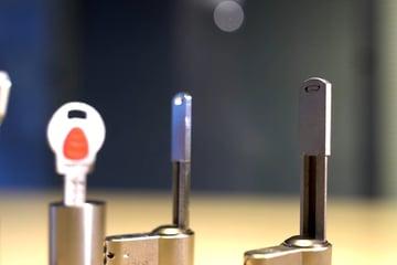 Various types of 3D printable keys from UrbanAlps
