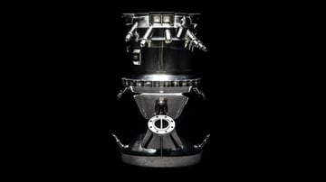 The Aeon 1, a 3D printed rocket engine