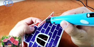 Using a 3D pen to build your pet's home is a great project!