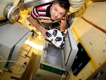 Printing meat on the ISS