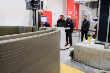 Image of 3D Printing Industry News Digest: COBOD 3D Print the Walls of 4 Small Houses in 4 Days