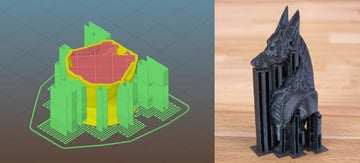 Adding supports to an FDM print can be a crucial point in determining the outcome