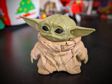 The most puzzling Baby Yoda