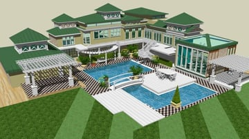 SketchUp is popular for modeling and rendering, but this software is capable of animating, too