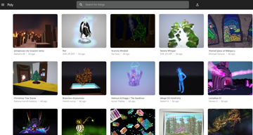 Poly has an ever-growing library of assets available