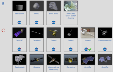 Your space-themed game will be even better with these authentic NASA models
