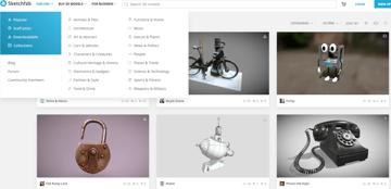 Grab the latest models on Sketchfab