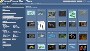 Despite it's simple design, this active community has over 3,000 3D models to chose from