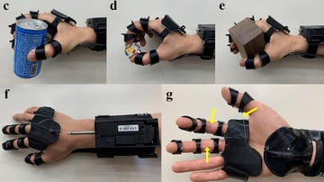 This 3D printed device is controlled through EMG signals