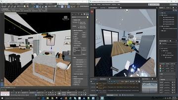 Design realistic 3D living spaces