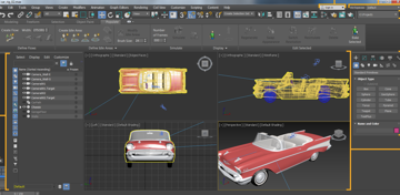 Have total control with 3ds Max's UI