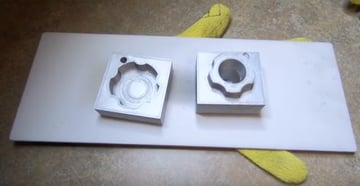3D printed metallic injection molds