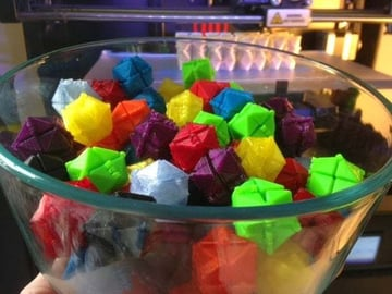 Print a bowl-full of fidget cubes