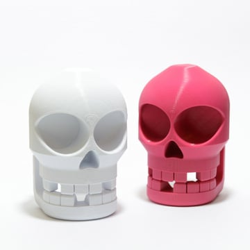 Two chompy skulls with nothing to eat