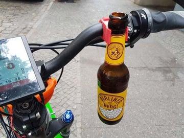 A simple yet effective bottle holder