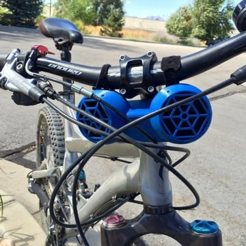 Bike mounted speakers will make your ride even better