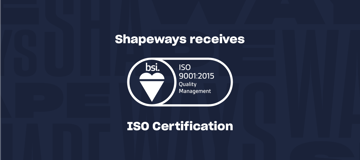 Image of 3D Printing Industry News Digest: Shapeways' ISO Certification