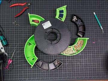 Afbeelding van Cool Things to 3D Print: Spool Tool Desk Holder