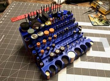 Afbeelding van coole dingen om in 3D af te drukken: Dremel Bit Storage