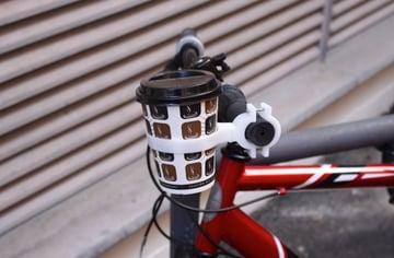 Afbeelding van Cool Things to 3D Print: Coffee Bike Holder