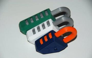 Afbeelding van coole dingen om in 3D af te drukken: combinatieslot