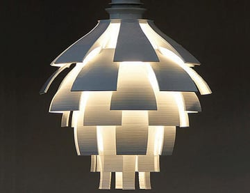 3d Printed Lamps Shades 25 Dazzling Designs All3dp