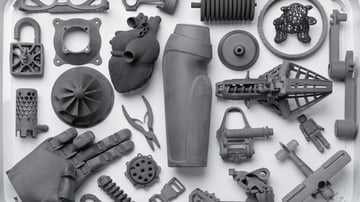 The different 3D printing technologies have applications across many industry sectors