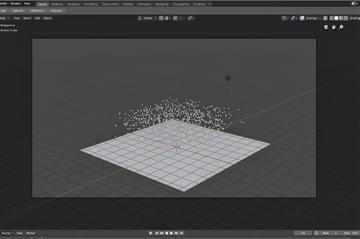 Particles in Blender 2.8