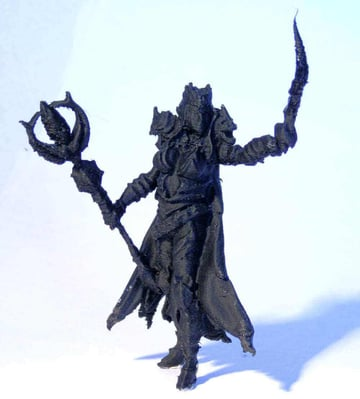 24 Fantastic 3D Models of RPG/D&D Miniatures to 3D Print