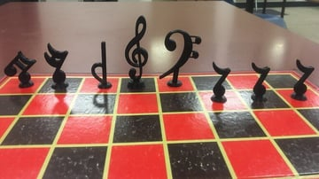 3D Printed Chess Set - 27 Unique Sets and Pieces to Mix