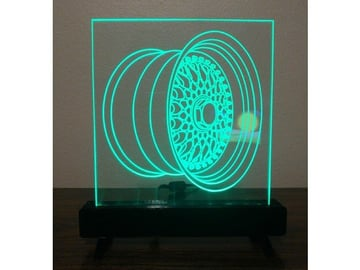 Project] Make Your Designs Glow with a Laser-Engraved LED