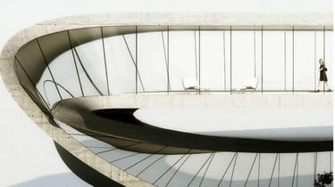 Featured image of Dutch Architect to 3D Print a Möbius Strip Building