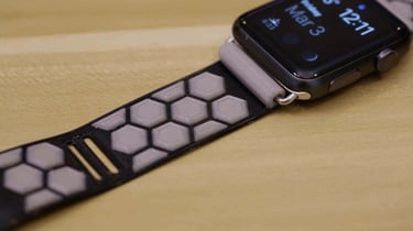 Featured image of Make a Flexible 3D Printed Band for the Apple Watch