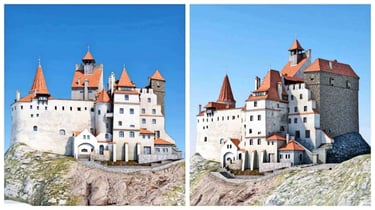Featured image of Full-Scale, 3D Printed Replica of Dracula's Castle is now on Kickstarter