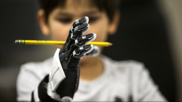 Featured image of 5-Year-Old Star Wars Fan Receives 3D Printed Stormtrooper Prosthetic